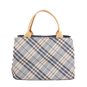 Auth Burberry Blue Label  Canvas Handbag