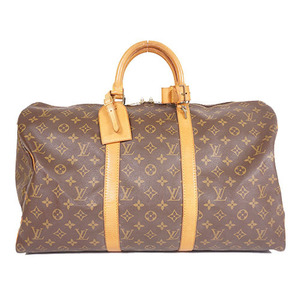 Auth Louis Vuitton Monogram Keepall50 M41426 Unisex,Women,Men  Boston Bag
