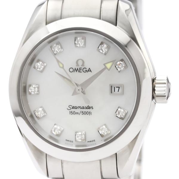 Omega Seamaster Quartz Stainless Steel Women's Dress Watch 2577.75