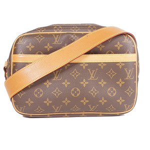 Auth Louis Vuitton Monogram ReporterPM M45254