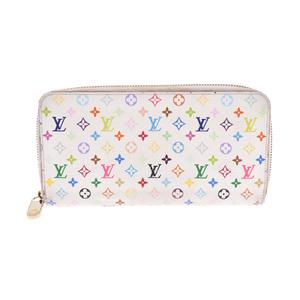 ルイ・ヴィトン(Louis Vuitton) モノグラムマルチカラー ジッピー・ウォレット M60241 レディース モノグラムマルチカラー 長財布(二つ折り) ブロン,リッチ