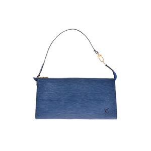 Louis Vuitton Epi M52945 Handbag Toledo Blue