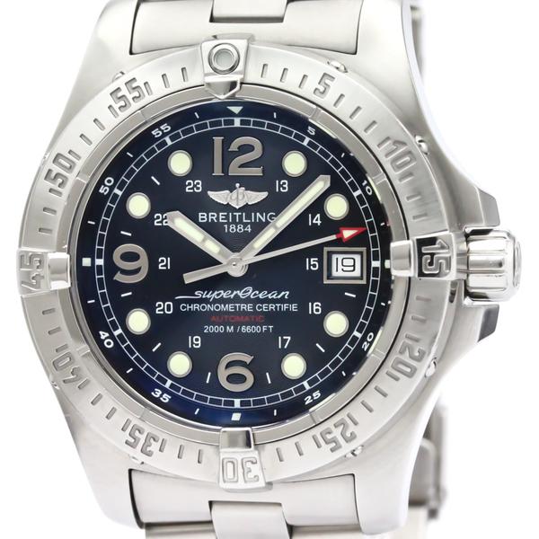 BREITLING Superocean Steelfish Steel Automatic Watch A17390