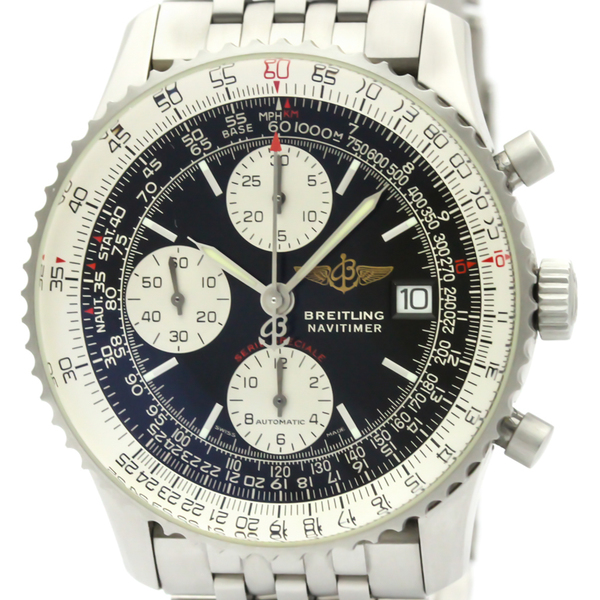 BREITLING Navitimer Fighters Steel Automatic Mens Watch A13330