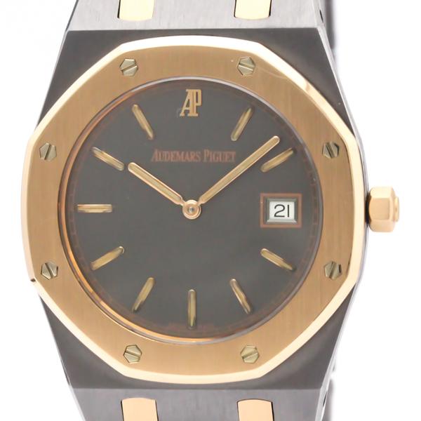 Audemars Piguet Royal Oak Quartz Pink Gold (18K),Tantalum Men's Dress Watch