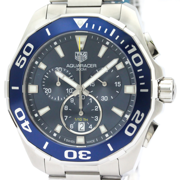 Tag Heuer Aquaracer Quartz Stainless Steel Men's Sports Watch CAY111B