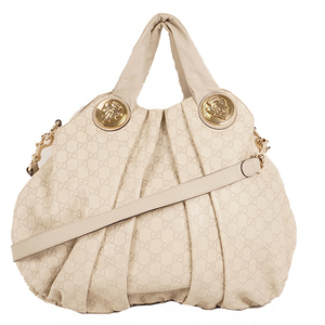 Gucci Hysteria 197016 Women's Leather Handbag,Shoulder Bag Ivory