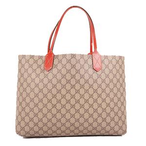 Gucci Reversible Men,Women GG Supreme Handbag,Shoulder Bag,Tote Bag Beige,Red