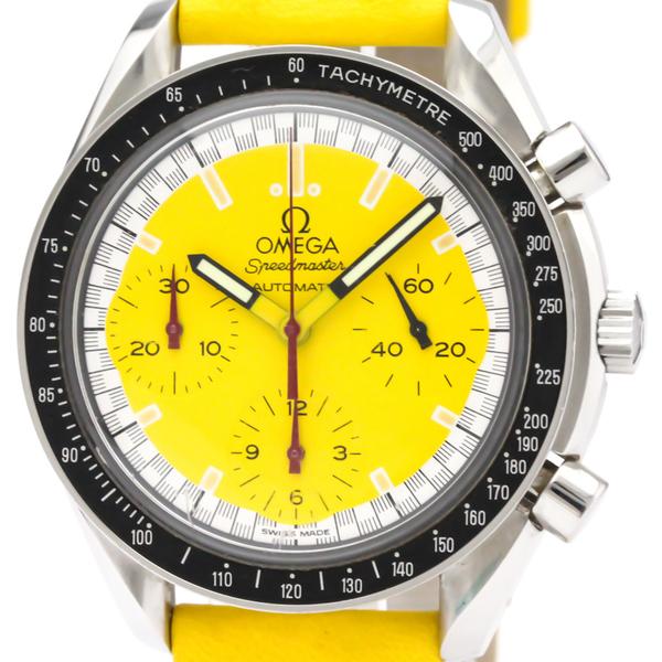 OMEGA Speedmaster Michael Schumacher Yellow Dial Watch 3510.12 BF300340
