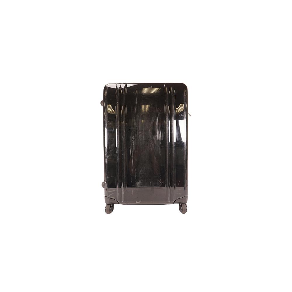 ゼロハリバートン スーツケースポリカーボネートブラックシルバー