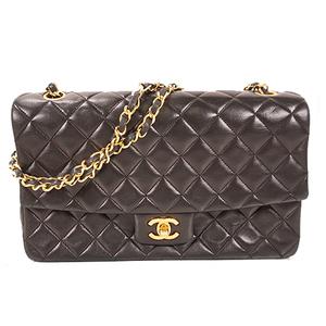 シャネル(Chanel) マトラッセ ショルダーバッグ レザー ショルダーバッグ ブラック