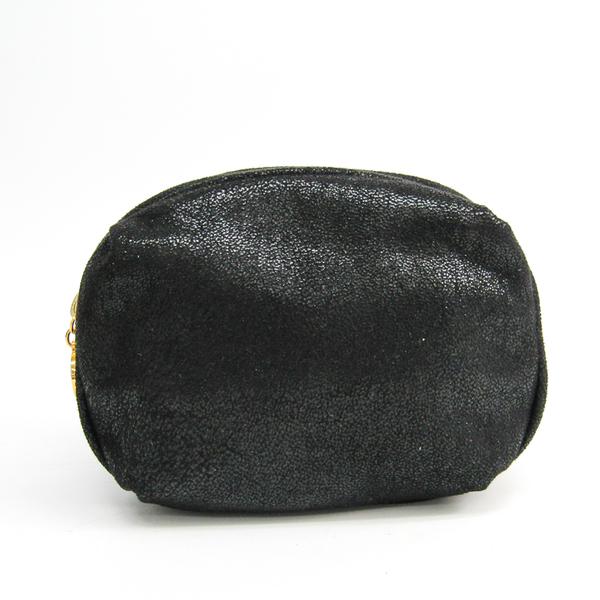 Stella McCartney 223855 W9355 1000 Unisex Polyester Pouch Black