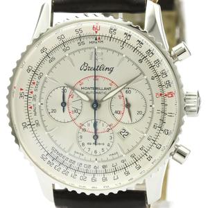 ブライトリング(Breitling) ナビタイマー 自動巻き ステンレススチール(SS) メンズ スポーツウォッチ A41330
