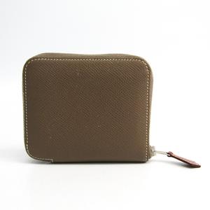 エルメス(Hermes) アザップ シルクイン コンパクト レディース エプソン 財布(二つ折り) エトゥープ