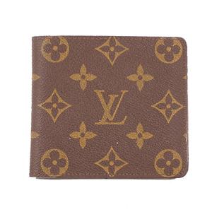 ルイヴィトン 二つ折り財布 モノグラム ポルトビエモネ M61669