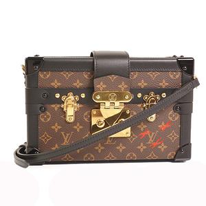 Auth Louis Vuitton 2WAY Bag Monogram Petite Malle M44199