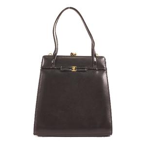 Salvatore Ferragamo Vara 2wayBag Women's Leather Handbag,Shoulder Bag Black