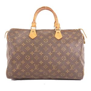 Louis Vuitton Monogram Speedy 35 M41107 Women's Boston Bag,Handbag Brown