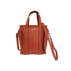 Balenciaga 452458 Bazar Shopper XS Women's Tote Bag Brown