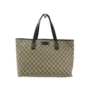 Gucci GG Plus 211137 Tote Bag Brown GG