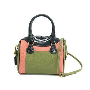 Burberry 3973109 Women's Handbag Light Green,Pink,Green