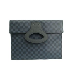 Louis Vuitton Damier Cobalt N51101 Portfolio Men's Clutch Bag Damier Cobalt