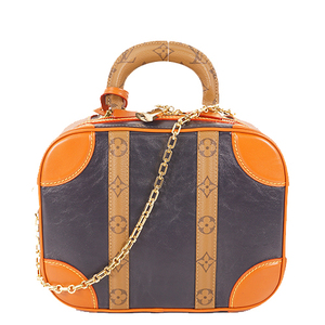 Auth Louis Vuitton Monogram Reverse Varisette M53782 Women's Handbag