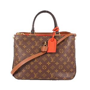 Louis Vuitton Monogram ミルフィーユ Millefeuille M44254 Women's Handbag,Shoulder Bag Noir,Rouge