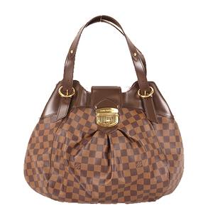 Auth Louis Vuitton Damier Sistina GM N41540 Women's Shoulder Bag Brown