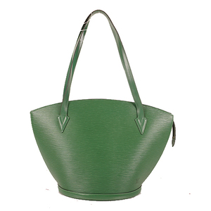 Auth Louis Vuitton Epi M52264 Women's Shopping Bag,Shoulder Bag Borneo Green