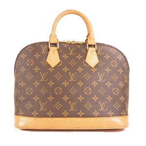 Auth Louis Vuitton Monogram M51130 Alma M51130 Women's Handbag Monogram