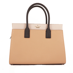Auth Kate Spade Handbag Women's Leather Handbag Beige,Black