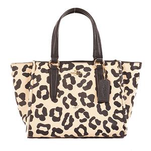 Auth Coac 2WAYbag  Women's Handbag,Shoulder Bag Beige Pink