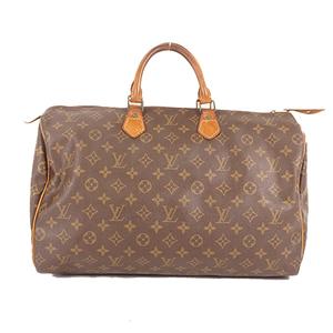 Auth Louis Vuitton Monogram Speedy 40 M41106 Women's Boston Bag,Handbag Monogram