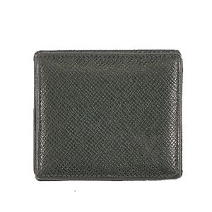 Auth Louis Vuitton Coin Purse Taiga Porte Monnaie Boite M30384 Episea