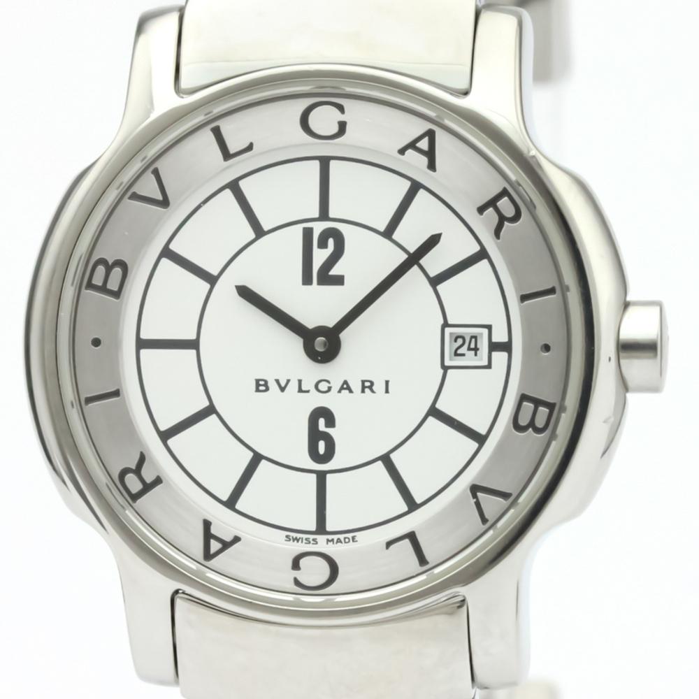 sale retailer 3f118 07a78 BVLGARI Solotempo Steel Quartz Ladies Watch ST29S | eLady.com
