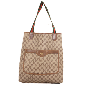 Auth Gucci Sherry Line Totebag 378.02.003  GG Supre Men,Women