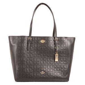 Coach Signature F71104 Women's Tote Bag Black