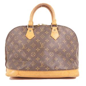 Auth Louis Vuitton Monogram Alma M51130 Women's Handbag Monogram