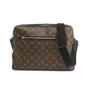 Louis Vuitton Monogram Macassar M40387 Torres Men's Shoulder Bag Monogram Macassar