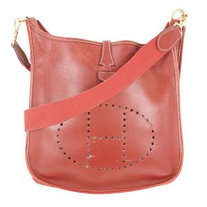 Auth Hermes EvelyneⅠ □Dstamp mark Women's Courchevel Leather Shoulder Bag