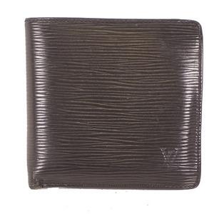 Auth Louis Vuitton Wallet (bi-fold) Monogram M62289 Black
