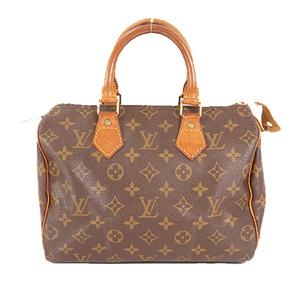 Auth Louis Vuitton Handbag Monogram Speedy 25 M41109