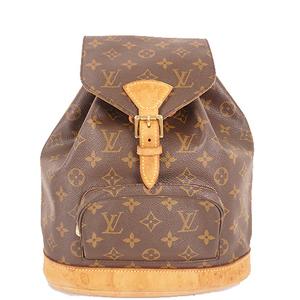 Auth Louis Vuitton Monogram Montsouris MM M51136
