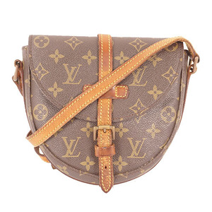 Auth Louis Vuitton Monogram M40646 Women's Shoulder Bag Monogram