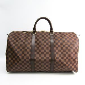 ルイ・ヴィトン(Louis Vuitton) ダミエ キーポル50 N41427 ボストンバッグ エベヌ