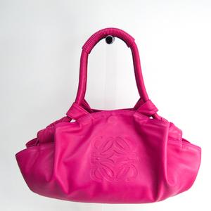 ロエベ(Loewe) ナッパアイレ レディース レザー,レザー ハンドバッグ ピンク