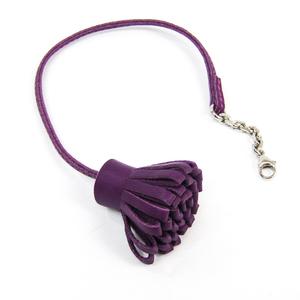 Hermes Bookmark Carmencita 23 Purple Swift Leather