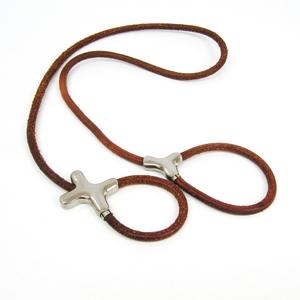 Hermes - Dog Leash Barenia Leather Natural