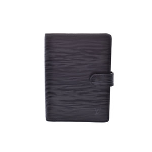 Louis Vuitton Epi Planner Cover Noir R20052 Agenda PM